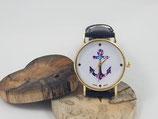"""Armbanduhr """"Anker bunt"""""""