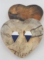Holzohrstecker #1