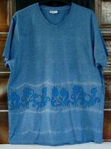 Batik-T-Shirt FLOWERS
