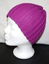 Mütze Merino Pink
