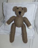 Mr. Bean-Teddy, grau-braun