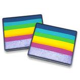 Illusion Rainbow Cake