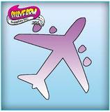 Schablone Flugzeug