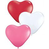 "Herzballons ""Love"" Mischung"