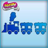 Schablone Eisenbahn