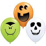 Round Balloons Halloween Sortiment