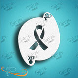 Stencil Awareness Ribbon