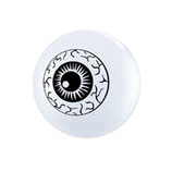 Round Balloons White Eyeball