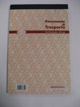 DOCUMENTO DI TRASPORTO IN A5 MOD. 30 01