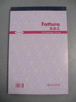 FATTURA D.D.T. MOD. 30 06 IN A5