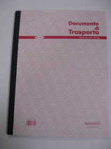 DOCUMENTO DI TRASPORTO IN A4 MOD. 30 03