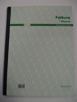 FATTURA 1 ALIQUOTA IN A4 MOD. 21 001