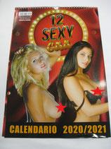 CALENDARIO 2020/2021 12 SEXY GIRLS