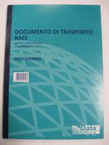 DOCUMENTO DI TRASPORTO RAEE DU1615RAEE0
