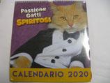 CALENDARIO 2020 PASSIONE GATTI SPIRITOSI
