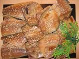 鯖の醤油干しは12切れか13きれで1kg前後です