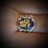 Ring Silber/Violett