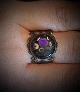 Ring Messing/ Violett