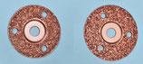 Klauenscheiben, Ø115 mm und Ø125,  Körnung Nr. 30