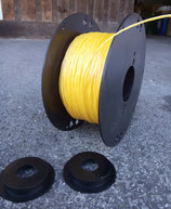 """Ersatzspule ECO-LINE 2 x 300 m """"Power-String-light"""", gelbe Fliegenschnur"""