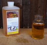 Leinöl, kaltgepresst: 1 Liter