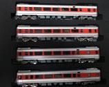 PPT自強号客車CセットPPH1300身障者対応車+車掌車各X2,計4両塗装済KIT