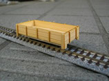 木製貨車キット2軸無蓋車(ト)2両セット車体KIT