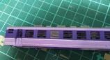 ハメコミ窓ガラス12系客車改造車用固定窓