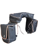 Saddlebag 3-Poket Black