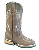 Western Boots Bulls Eye Medium Shaft