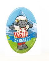 Wolli-Aufkleber 3D/Sticker 3D