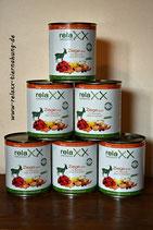 Relaxx Ziege pur mit Gemüse, Obst und Kräutern hypoallergen Singleprotein