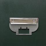 Kartenhalteblech/ Paper target holder