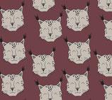 Sarouels lynx bordeaux