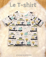 T-shirt Animaux fond gris