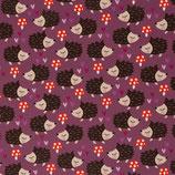 Sarouels Softshell hérissons fond violet