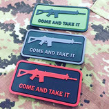 "Patch ""Come and take it"""