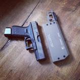 Fischer Development Schalldämpfer Kaliber 9x19mm (für Pistolen ohne Gewindelauf)