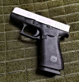 Glock G43x Silver Slide