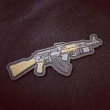 PVC Patch AK47 mit Granatwerfer