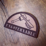 Leder Patch Ungovernable