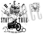 "T-Shirt ""STAY TRUE"""