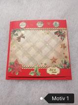 Weihnachtskarten quadratisch