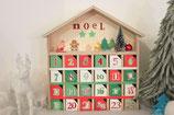 Ateliers DIY calendrier de l'Avent,  parents-enfants