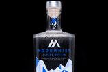 "1  Modernist Alpine Dry Gin, 0.7l, 44%                + 2x Modernist Alpine Dry Gin ""Mini, 0.05l, 44%"