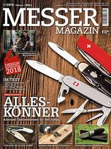 MESSER MAGAZIN Ausgabe 1/2018