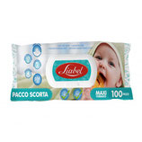 Salviette umidificate maxi 100pezzi. BABY WET WIPES