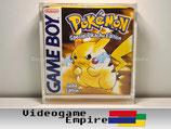 ACRYL Schutzhülle Game Boy Classic / Color / Advance Spiele OVP