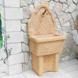 "ART.G6020, BLAV3100-TAB Bonfante lavello a muro ""Vistola"" in pietra ricostruita color tabacco"
