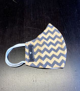 Le Masqui - Yellow Chevron